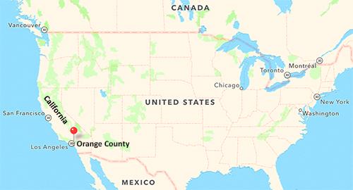 Orange County California U S A